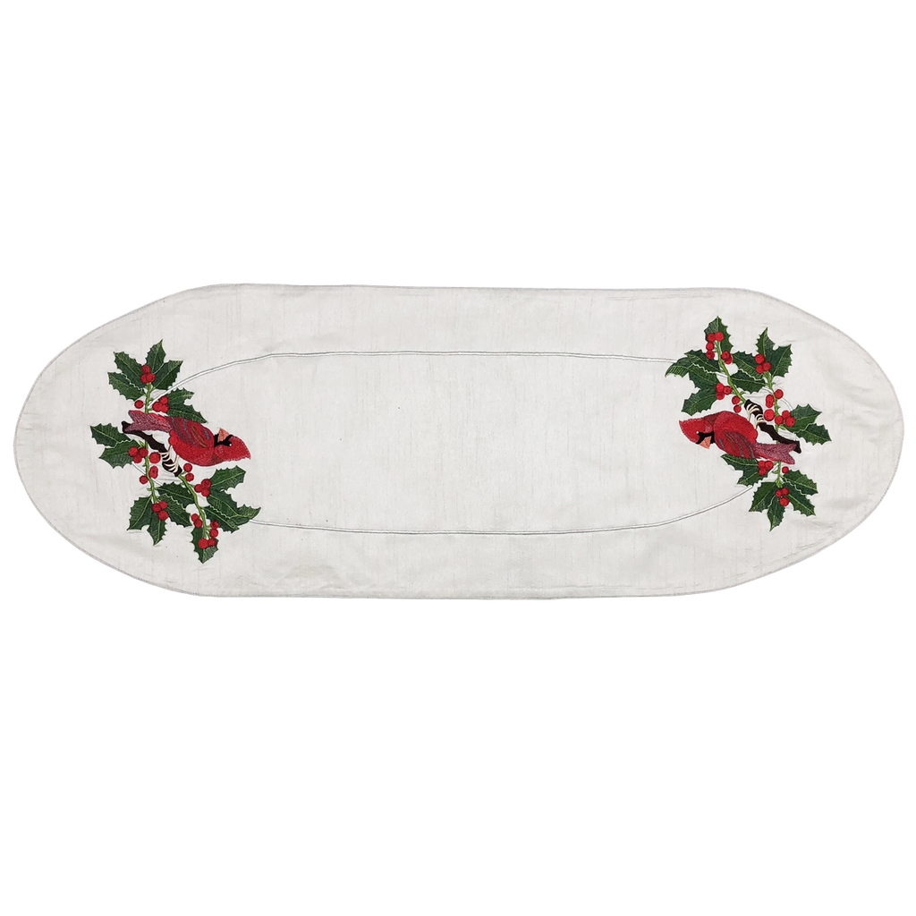 Cardinal Table Runner - Golden Hill Studio