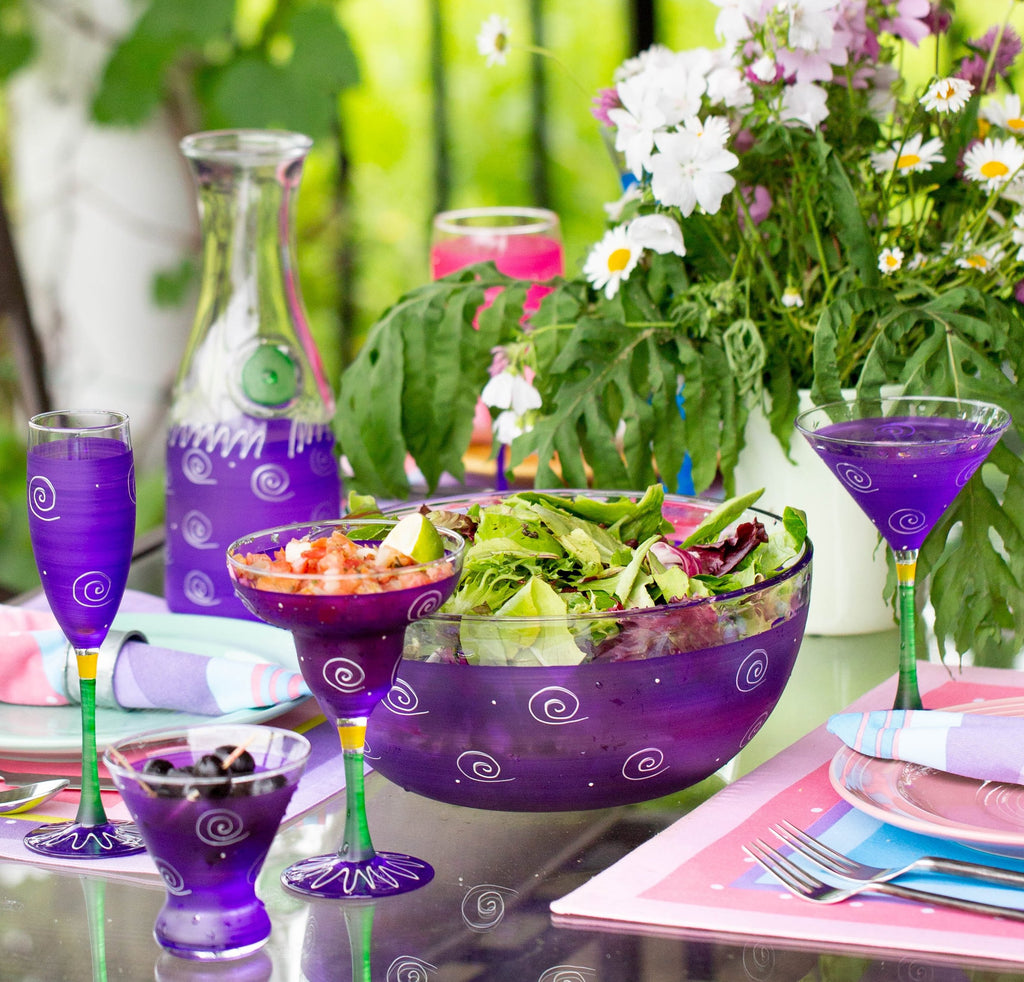 Peruvian Splendor Purple Carafe
