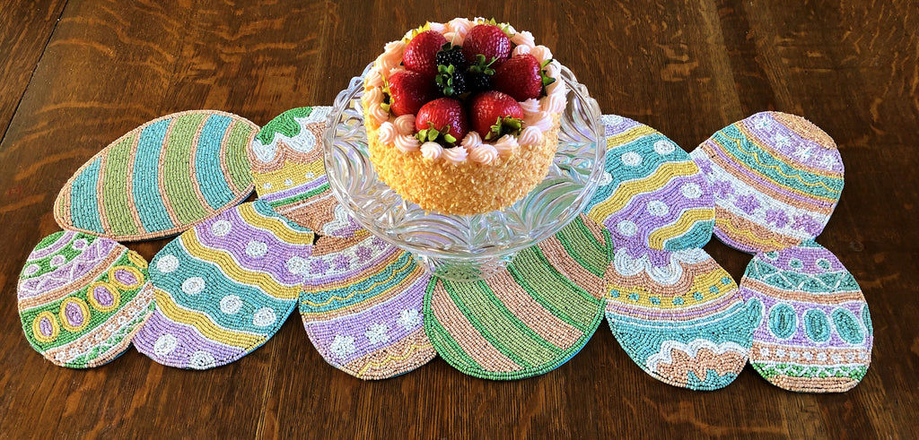 Eggs Table Runner - Golden Hill Studio