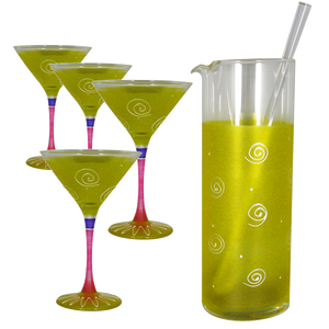 Peruvian Splendor Yellow Martini Bundle
