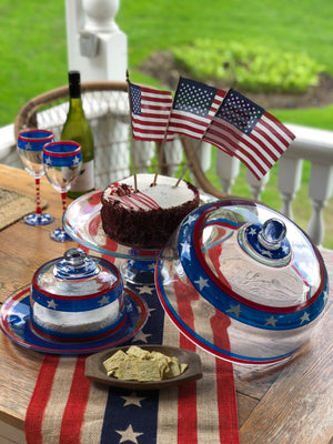 Stars/Stripes Cosmos Glass S/2