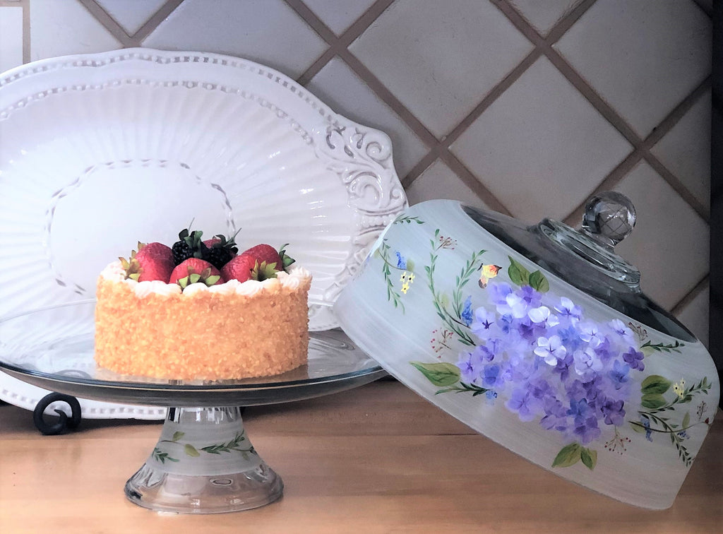 Springtime in Paris Cake Dome - Golden Hill Studio