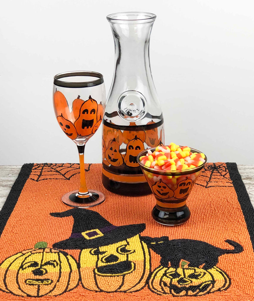 Pumpkin Family Carafe - Golden Hill Studio
