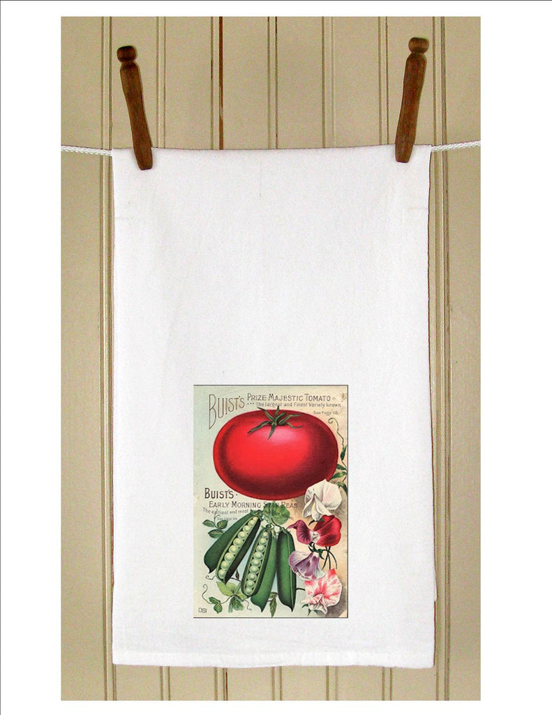 KT9009VG Tomato Seed Packet - Golden Hill Studio