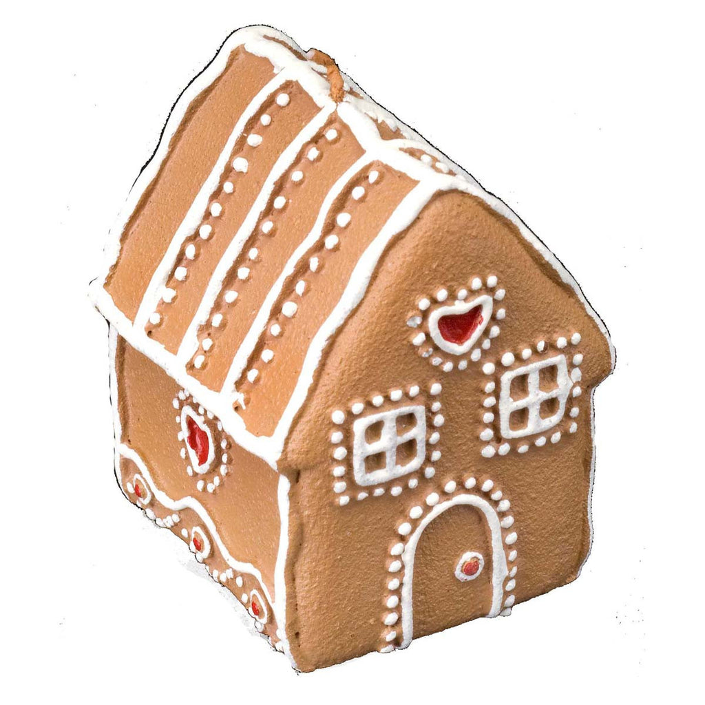 Gingerbread: Heart Candle Medium - Golden Hill Studio