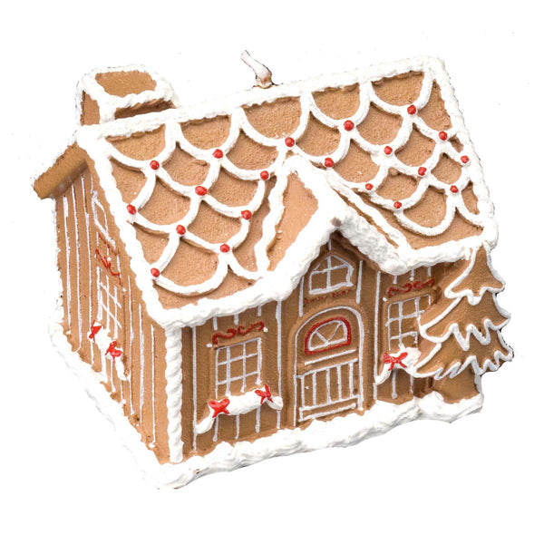 Gingerbread: House Candle Large