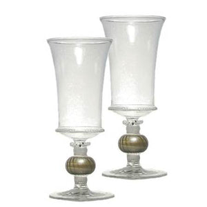 Swiss Twilight Goblet   Set of 2
