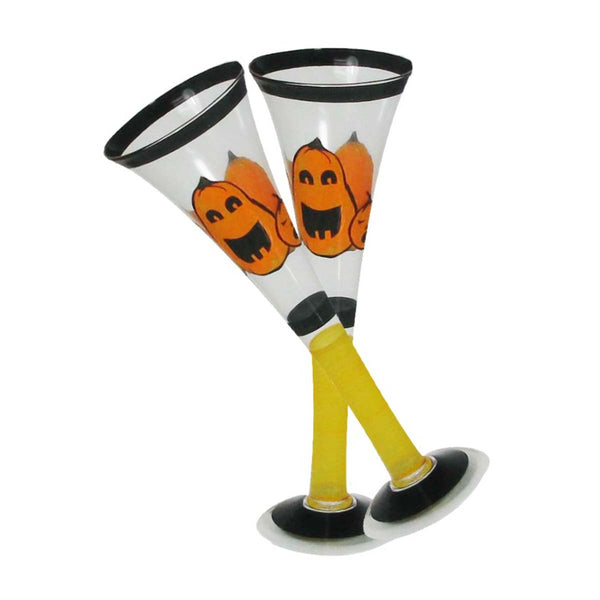 Pumpkin Family Hollow Flute Set of 2