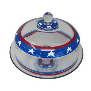 Stars/Stripes Cake Dome Patriotic Collection