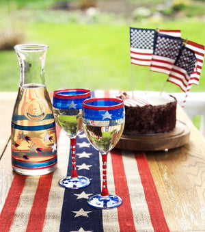 Stars & Stripes Carafe Patriotic Collection Carafe
