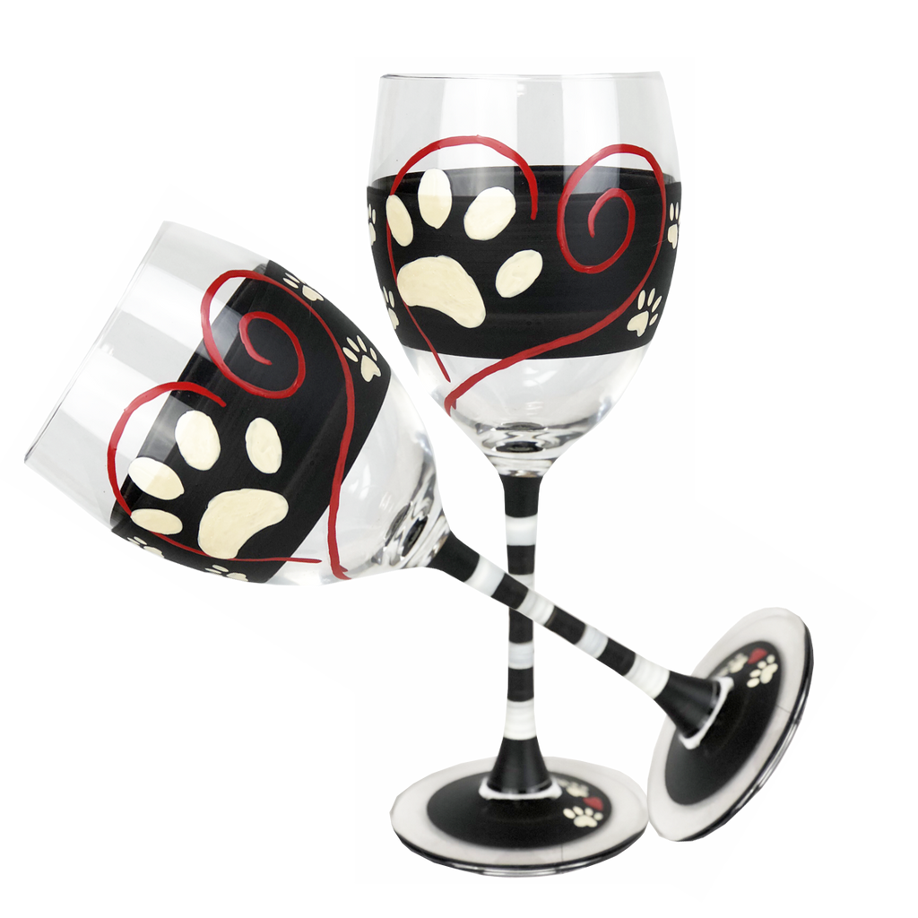 Warm Paws Wine   Set of 2