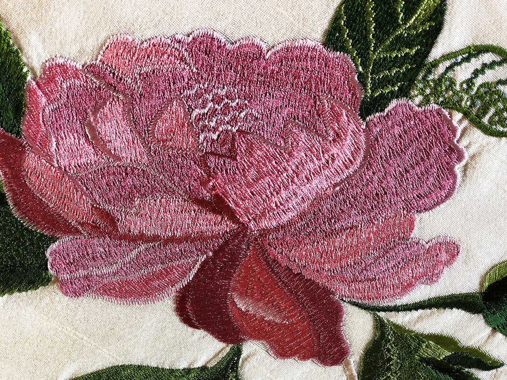 Polynesian Peony Runner - Golden Hill Studio