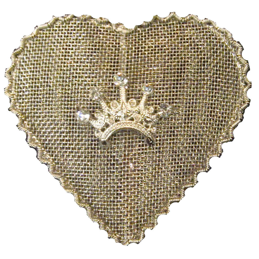 Sm Mesh Heart Set of 2