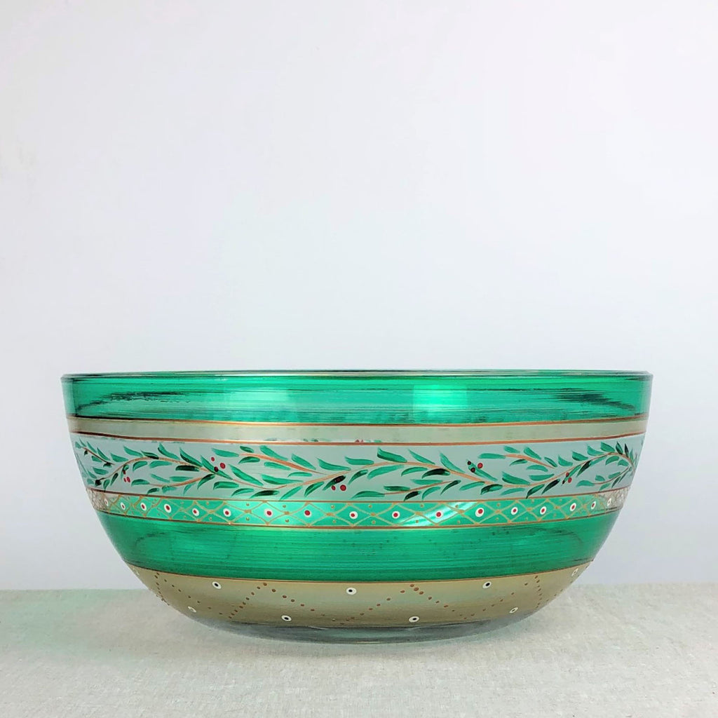 "Moroccan Mosaic Forest 11"" Bowl"