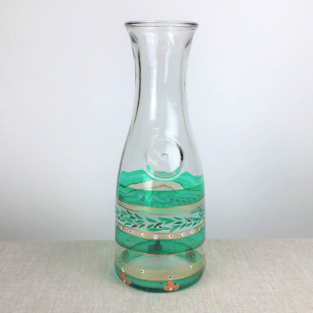 Moroccan Mosaic Forest Carafe