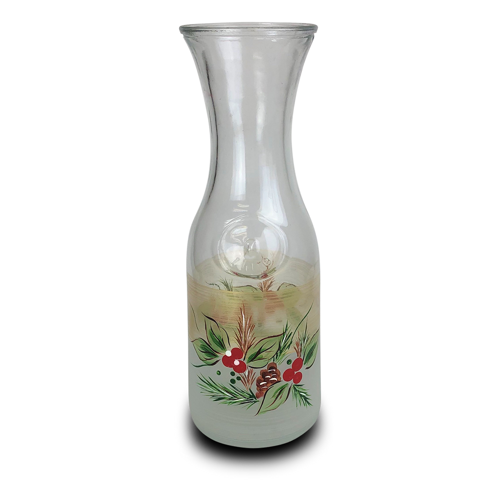 Black Forest Pine Carafe - Golden Hill Studio