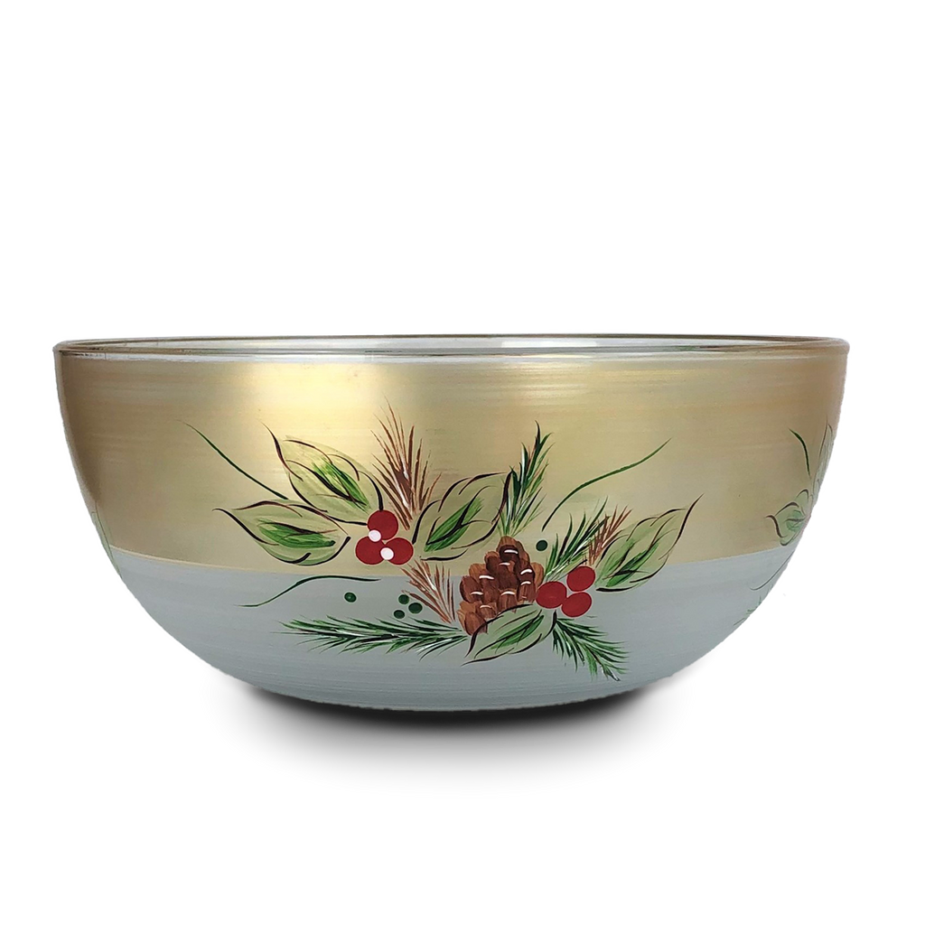 "Black Forest Pine 11"" Bowl - Golden Hill Studio"