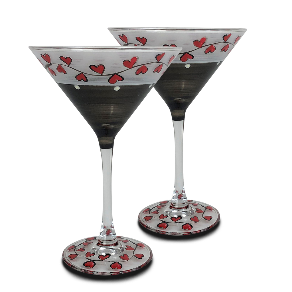 Parisian L'Amour Martini S/2 - Golden Hill Studio