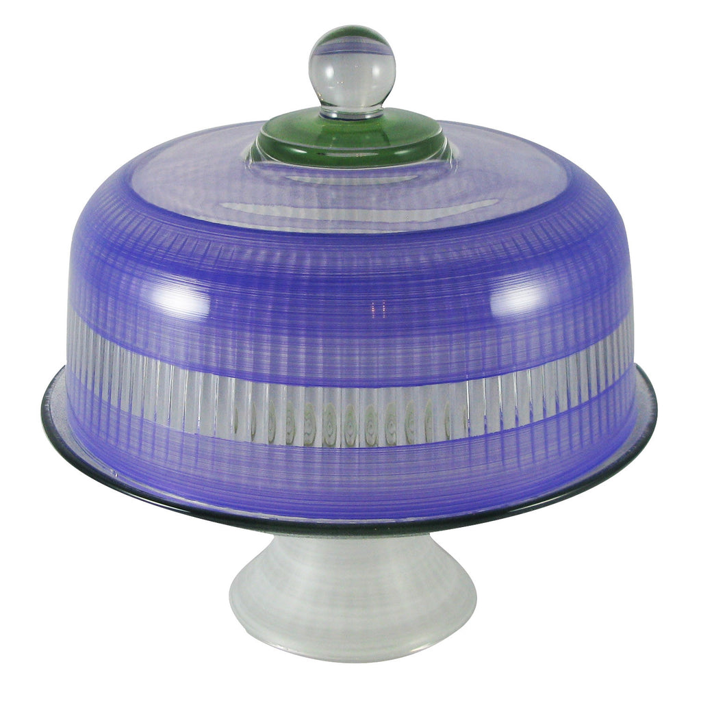 Retro Stripe Cake Dome