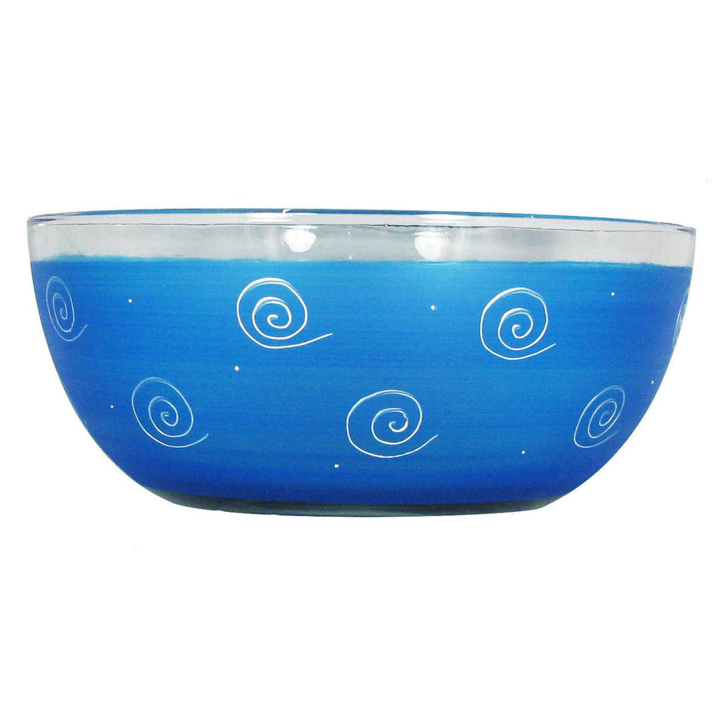 "Peruvian Splendor Turquoise 11"" Bowl - Golden Hill Studio"