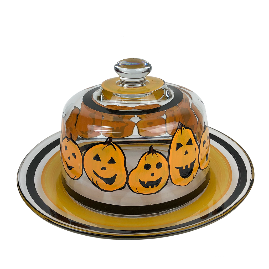 Pumpkin Family Cheese Dome - Golden Hill Studio