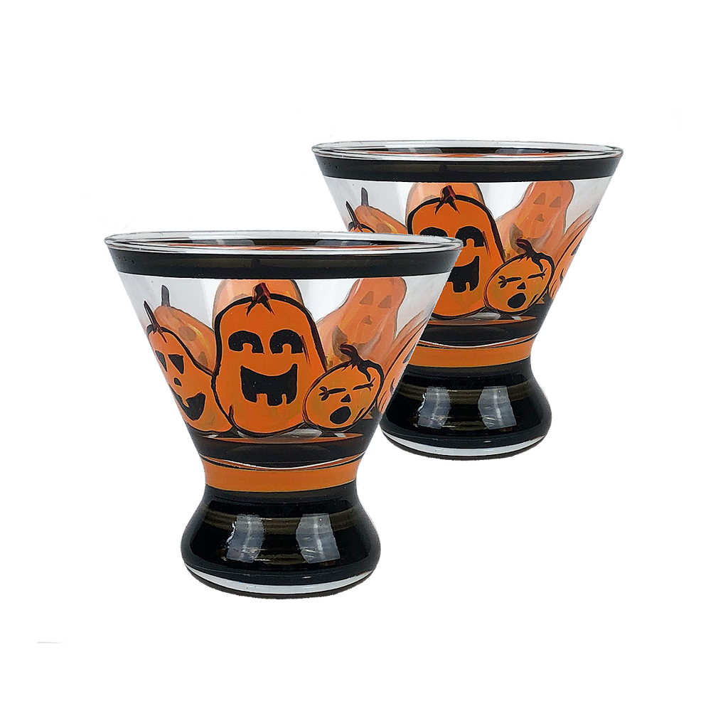 Pumpkin Family Cosmopolitan S/2 - Golden Hill Studio