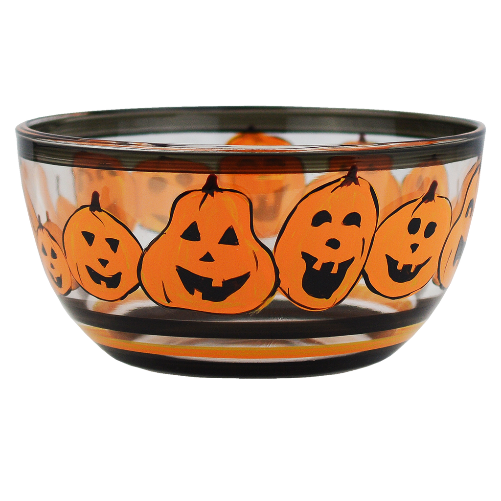 "Pumpkin Family 6"" Bowl - Golden Hill Studio"