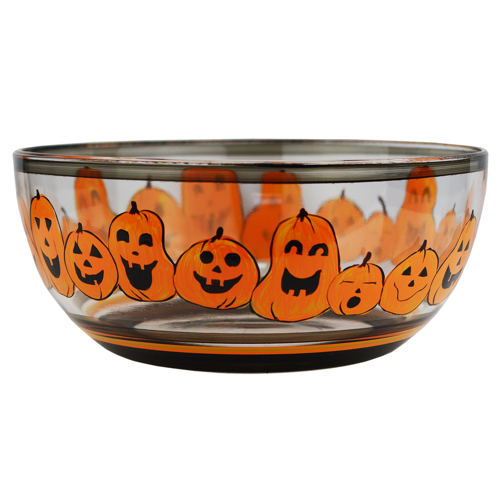 "Pumpkin Family 11"" Bowl - Golden Hill Studio"