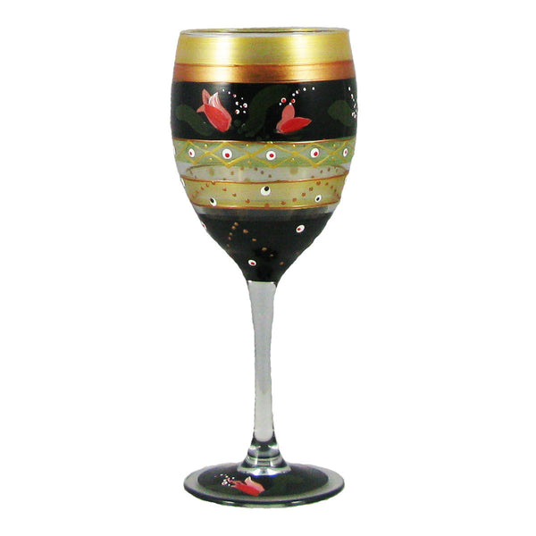 Tulip Floral Wine   Set of 2