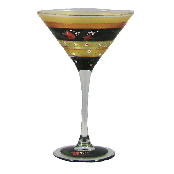 Tulip Floral Martini   Set of 2