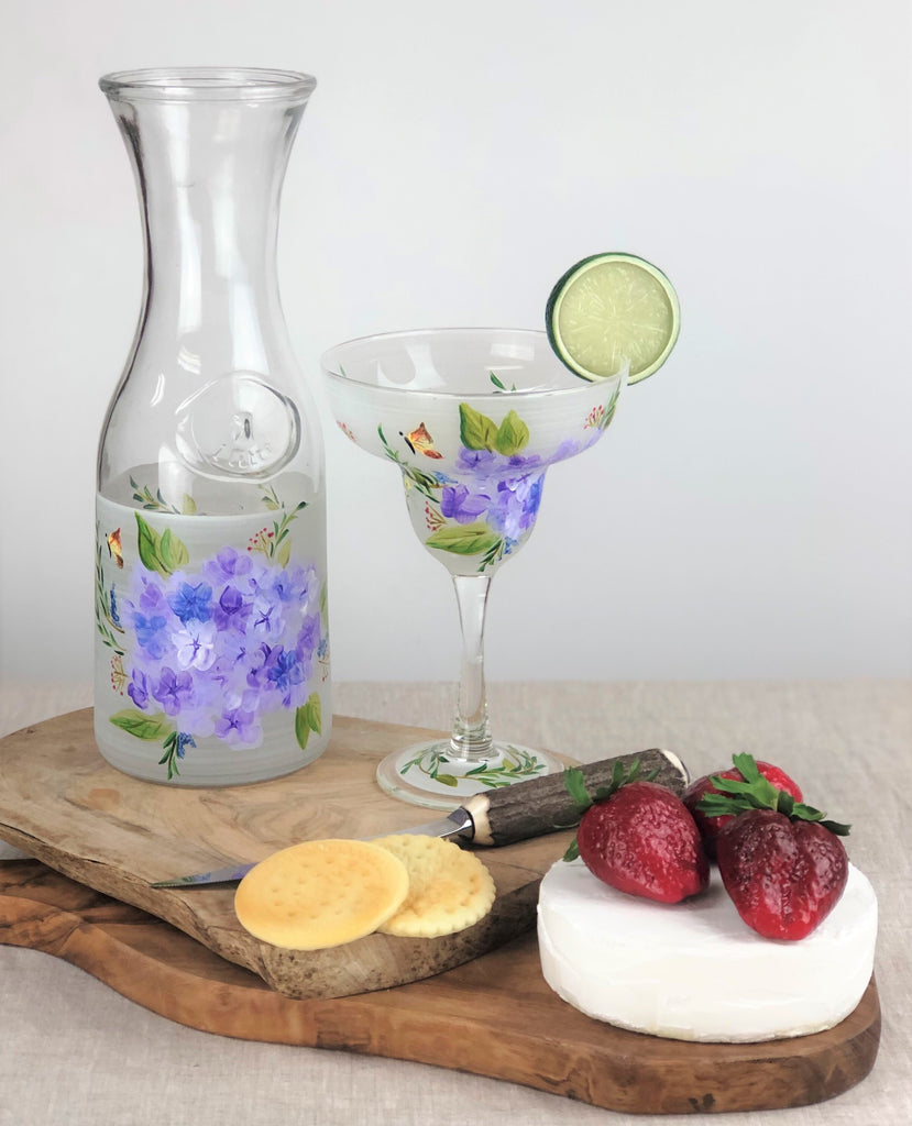 Springtime in Paris Margarita   Set of 2