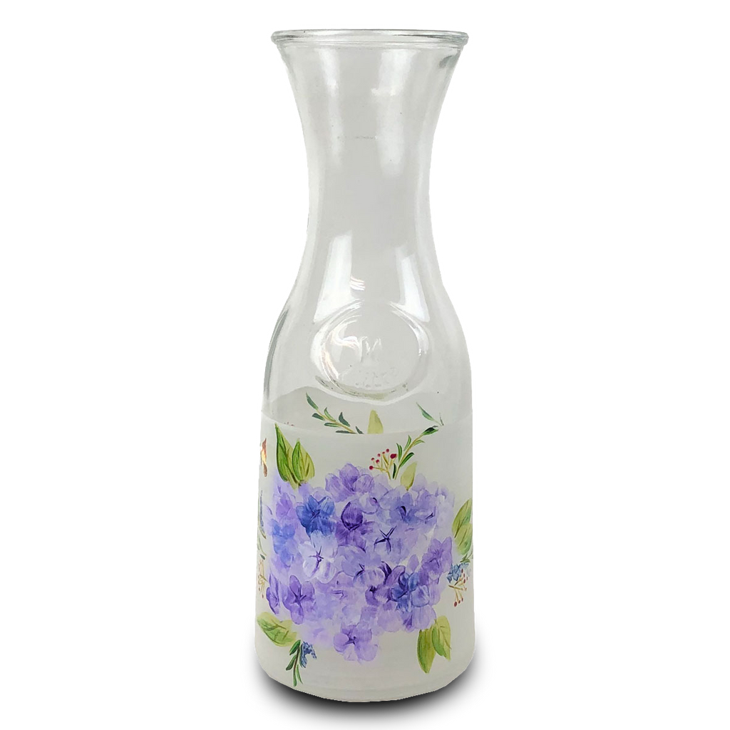 Springtime in Paris Carafe - Golden Hill Studio
