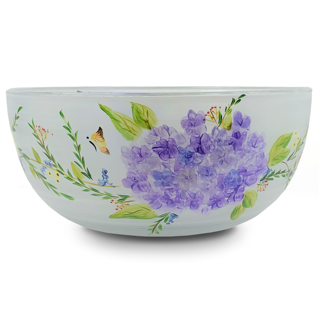 "Springtime in Paris 11"" Bowl - Golden Hill Studio"