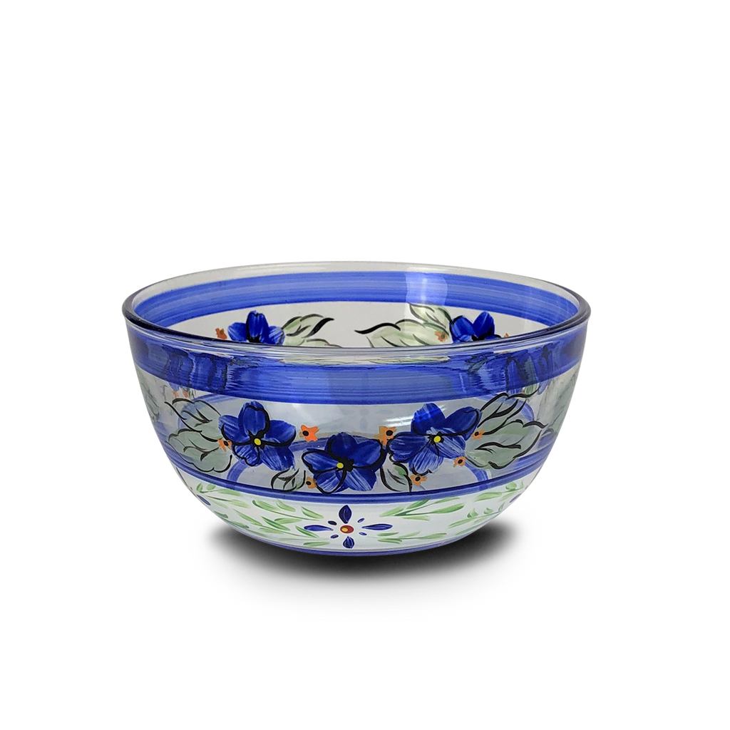 "Barcelona Blue 6"" Bowl - Golden Hill Studio"