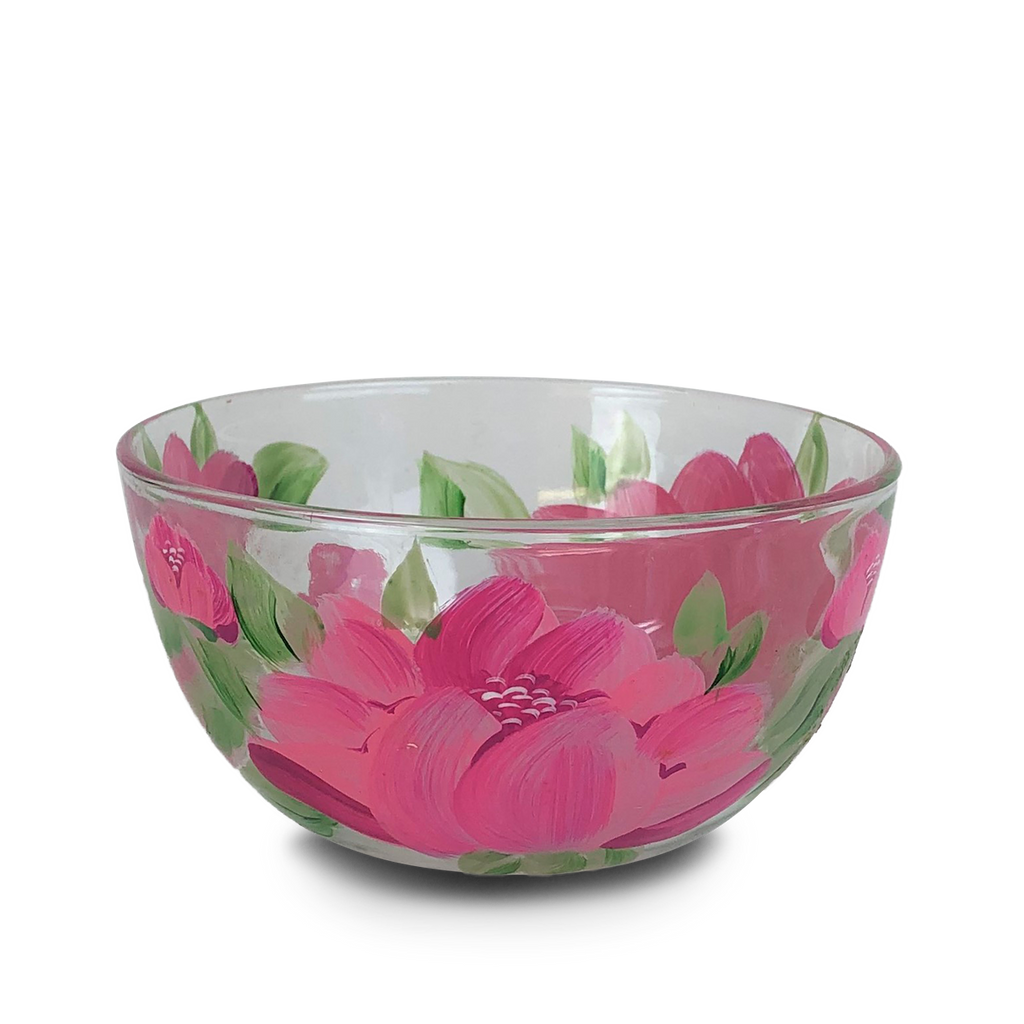"Polynesian Peony 6"" Bowl - Golden Hill Studio"
