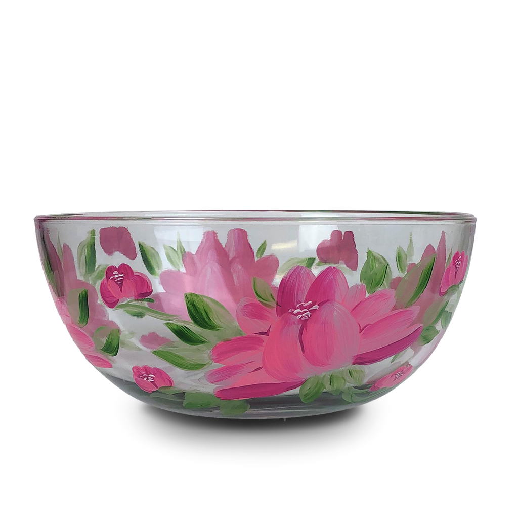 "Polynesian Peony 11"" Bowl - Golden Hill Studio"