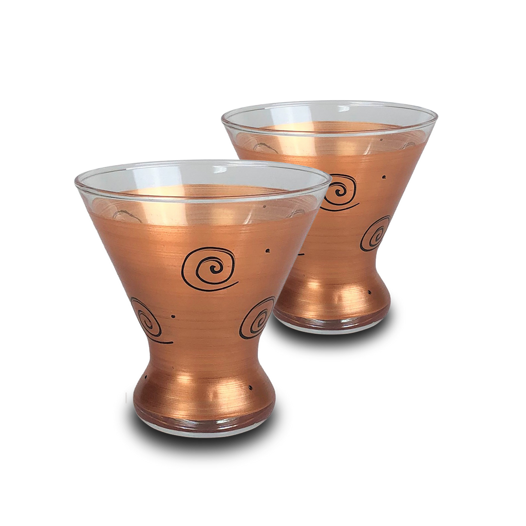 Tuscan Sunset Cosmopolitan   Set of 2 - Golden Hill Studio