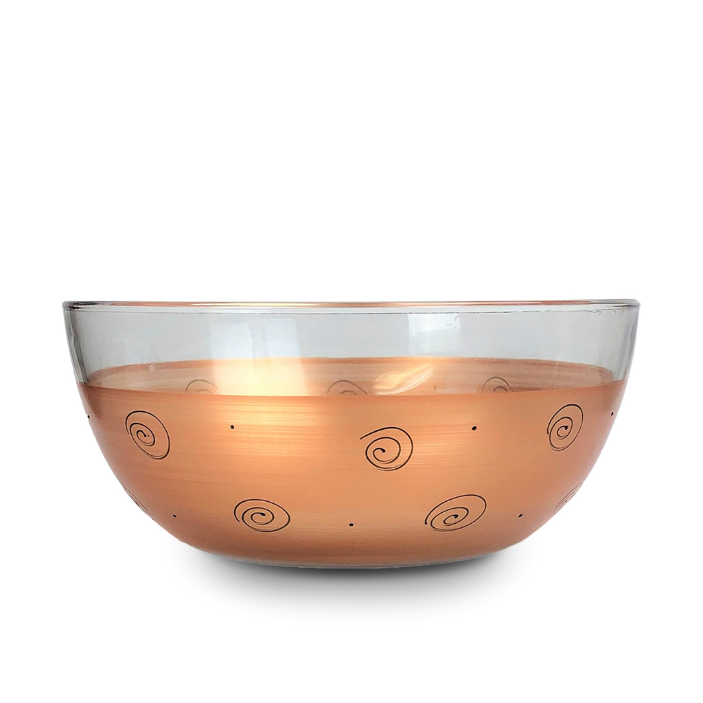 "Tuscan Sunset 11""Bowl - Golden Hill Studio"