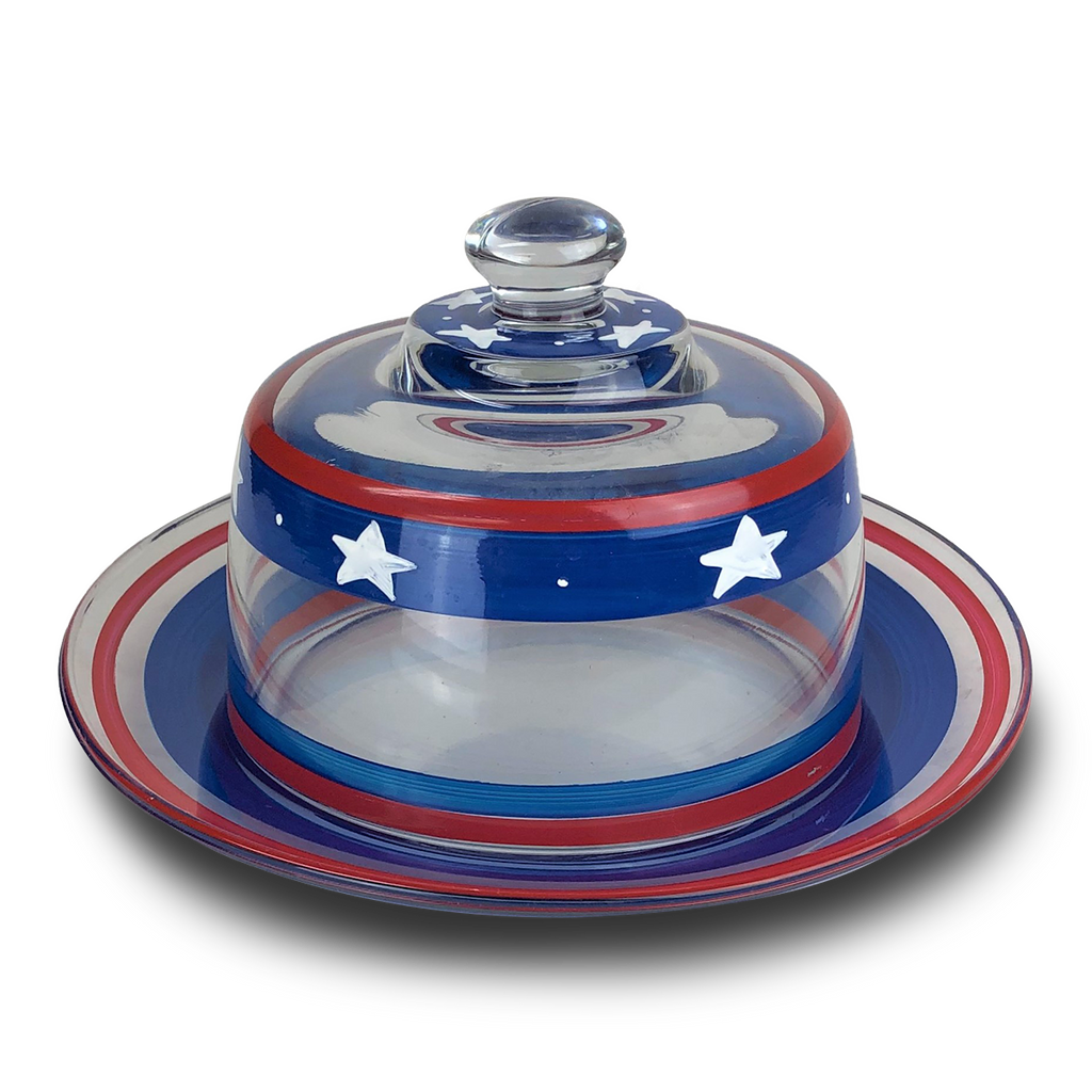 Stars & Stripes Cheese Dome - Golden Hill Studio