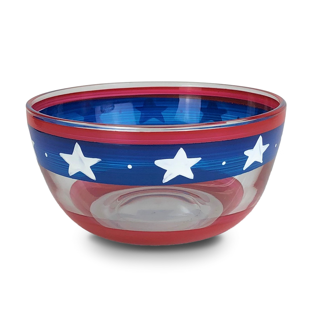 "Stars & Stripes 6"" Bowl - Golden Hill Studio"