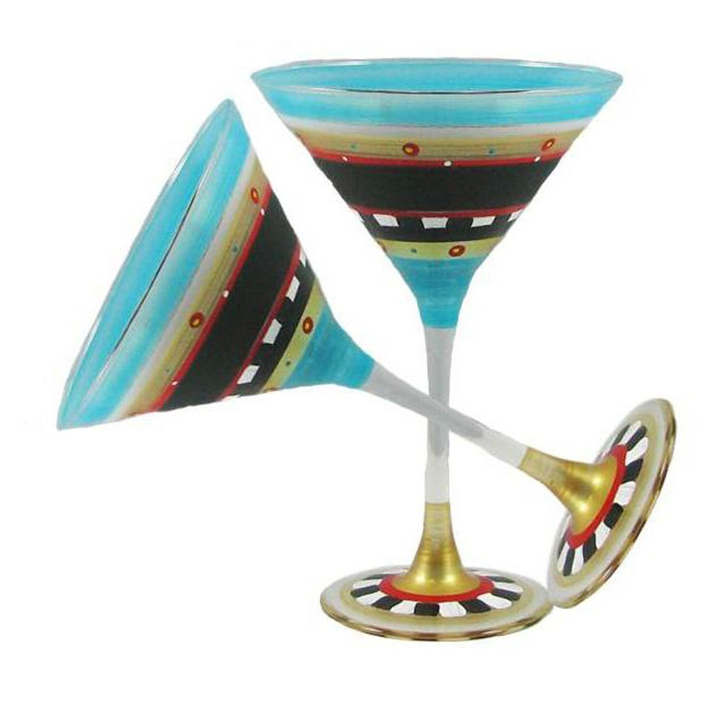 Mediterranean Martini Glass Subscription Box - 5 Months - Golden Hill Studio