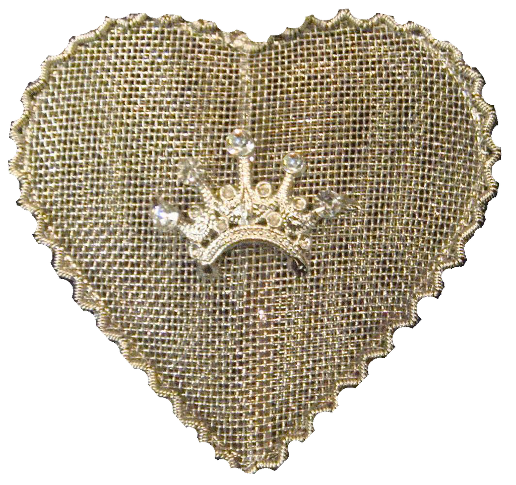 Lg Mesh Heart Set of 2