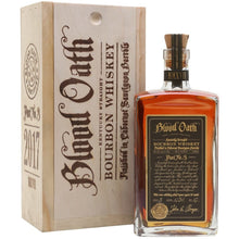Blood Oath Pact No. 3 - Bourbon Central