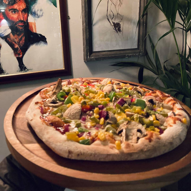 BBQ Veggie Pizza