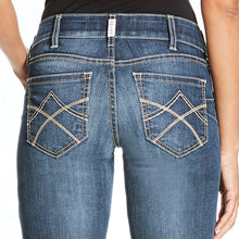 Load image into Gallery viewer, WOMEN'S ARIAT R.E.A.L. Mid Rise Stretch Tulip Boot Cut Jean PLUS SIZES