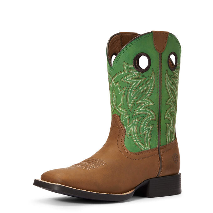 Kid's ARIAT Catch Em Western Boot