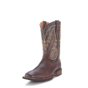 MEN'S ARIAT Smooth Quill Ostrich Western Boots 10029775