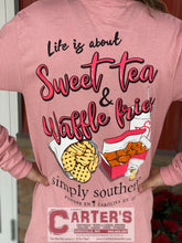 Load image into Gallery viewer, Simply Southern Long Sleeve Sweet Tea and Waffle Fries