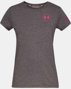 Women's UNDER ARMOUR Freedom Flag T-Shirt