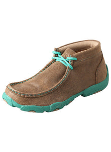 Kid's TWISTED X Turqouise Chukka Driving Mocs